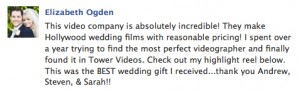 Elizabeth Wedding Video Review