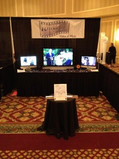 St. Louis Perfect Wedding Guide Tower Studios Bridal Show Booth