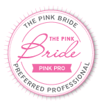 Pink Bride Preferred Vendor PNG